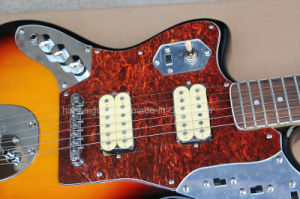 Hanhai Music / Left-Handed Electric Guitar with Red Tortoise Shell Pickguard pictures & photos