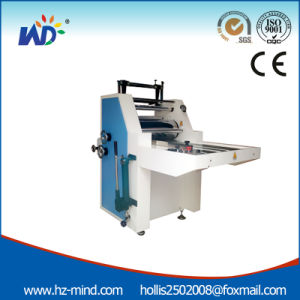 Professional Manufacturer Hydraulic Film Laminator (WD-F720H) pictures & photos