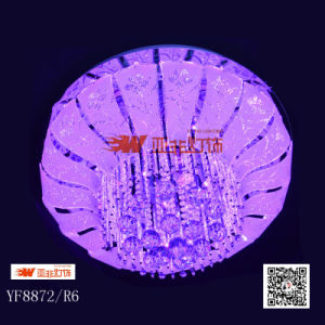 Modern Home Crystal Glass Ceiling Light with RGB&MP3 (YF8872/R6)