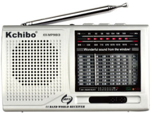 Kchibo Kk-MP9813 FM/MW/Sw1-9 11 Band Radio with MP3