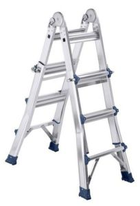4*3 Folded Aluminum Little Giant Ladder by CE/En131 Certificate pictures & photos