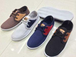 Wholesale Indian Man′s Canvas Shoes (WH1018)