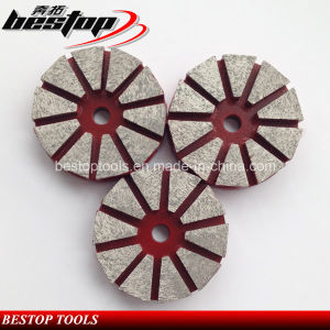 20# Soft Bond Diamond Metal Grinding Pad for Concrete Polishing pictures & photos