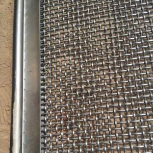 304 316L Stainless Steel Sea Salt Sieving Woven Screen Mesh pictures & photos