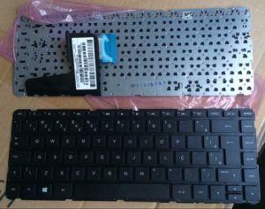 Laptop Keyboard for HP Pavilion 14-N000/14-N/741062-001 Us Black (no frame) pictures & photos