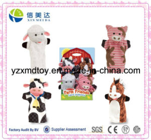 Custom Plush Farm Friends Hand Puppets pictures & photos