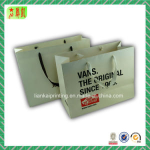Luxury Paper Bag with Mat Lamination pictures & photos