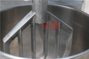High Speed Homogenizer Food Stainless Steel Double Shaft 80 Litre Planetary Mixer Kitchen China (ZMD-80) pictures & photos