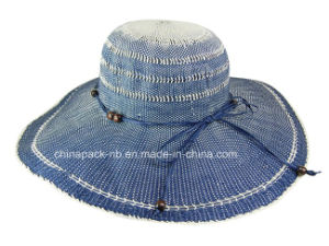 Wide Brim Sun Hat Boardwalk Style (CPA_90007) pictures & photos