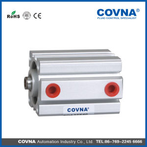 Sda Compact Double Acting/Single Acting Pneumatic Air Cylinder 12mm - 100mm pictures & photos