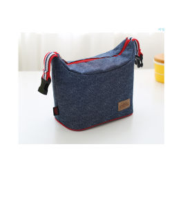 Jeans Picnic Cooler Bag with Buckle Handle pictures & photos