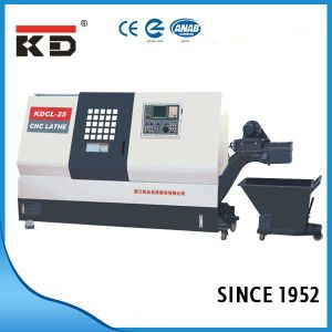 High Precision CNC Slant Bed Lathe Kdcl-25 pictures & photos