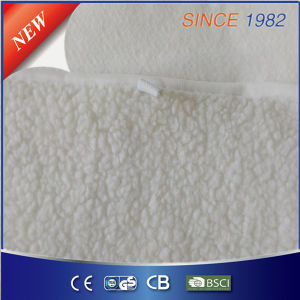 Ce/CB/GS/BSCI Approval Synthetical Wool Fleece Electric Blanket pictures & photos