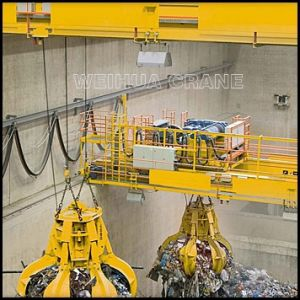 Double Beam Overhead Grab Crane Qz5t-20t