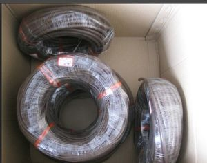 Black Viton Cord, FKM Cord, Fluorubber Cord Made with 100% Virgon Viton Rubber Without Smell pictures & photos