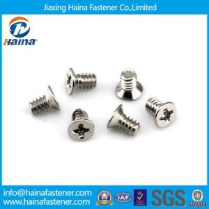 mm0.6 0.8 Precision Raised Countersunk Cross Micro Screw for Robot/Computer/Machine pictures & photos