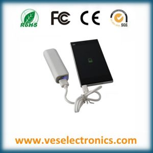New Promotional Gift Items ABS Power Banks 18650 Battery Mobile Power Bank 2600mAh Portable Charger pictures & photos