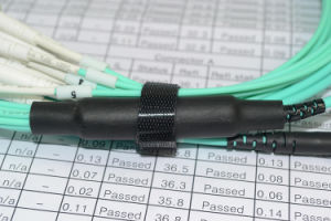 24cores MTP - LC Optical Round Patchcord pictures & photos