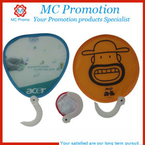 Custom Foldable Cloth Frisbee Fan Frisbee Toy