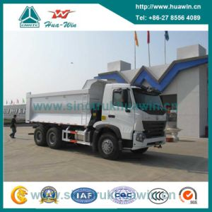 Sinotruk HOWO 6X4 226HP/290HP Hyva Tipper Self-Dumping Truck pictures & photos