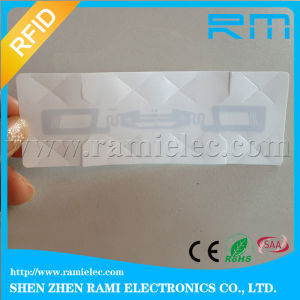860-960MHz Alien H3 Chip Car Wash Tag RFID Windshield Sticker pictures & photos