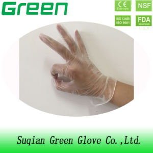 Selling Products Disposable Hospital Hand Vinyl Gloves pictures & photos