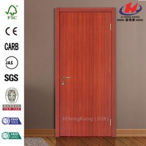 Sapelli HDF/MDF Veneer Moulded Wooden Door pictures & photos