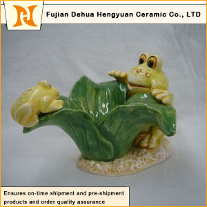 Garden Decoration Lovely Ceramic Frog Crafts (home decoration) pictures & photos