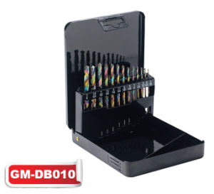 HSS Rainbow Finish Twist Drill Bit Set (GM-dB010) pictures & photos