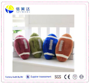 Lovely Football Hold Pillow Plush/ Creative Boy Birthday Gift pictures & photos