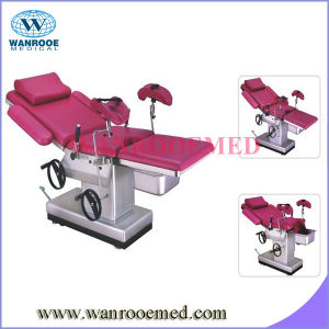 Hospital Hydraulic Delivery Bed (imported oil pump) pictures & photos