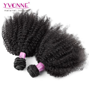 Top Quality Afro Curly Virgin Remy Brazilian Hair pictures & photos