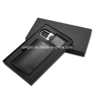 Superior Leather Card Holder and Letter Opener Gift Set (QL-TZ-0011) pictures & photos
