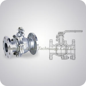 Cast Steel Floating Ball Valve China Supplier pictures & photos