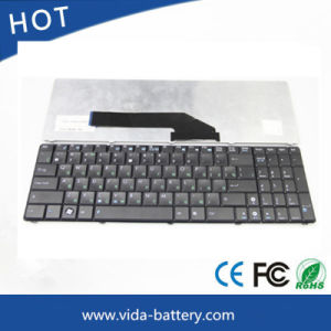Laptop Keyboard/Wired Keyboard for Asus K50 K70 F52 F90 P50 Black Us Version pictures & photos