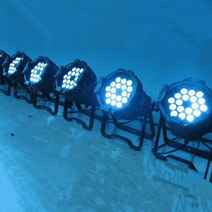 Stage Light 18X18W Rgbaw UV LED PAR 64 DJ Lighting pictures & photos