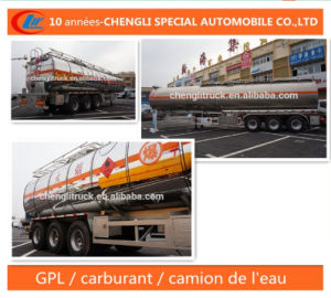 Petrolier 40m3 Remorque Citerne De Carburant Trailer pictures & photos