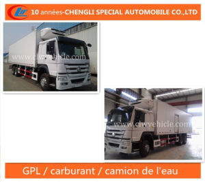 HOWO 20t 6X4 Camion Refrigerateur (Refrigerator Truck) pictures & photos