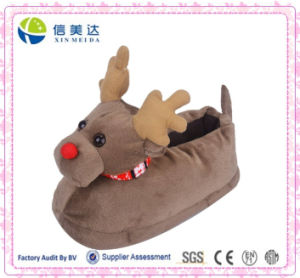 3D Deer Elk Animal Slippers Christmas Toy pictures & photos