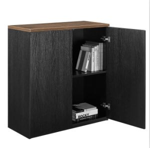 MFC Wooden File Cabinet with Shelves Storage Cabinet
