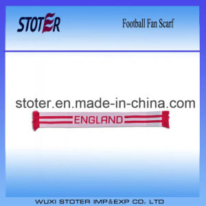 Wholesales Football Fan Scarf for Euro and World Cup
