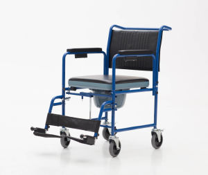 Foldable, Comfortable, Commode Chairfor, Old People (YJ-7101) pictures & photos