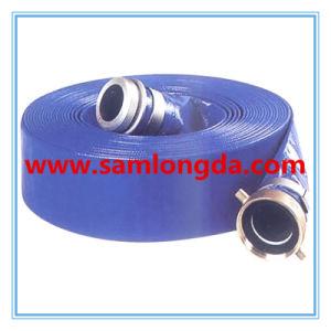 """3/4""""-12"""" Blue PVC Layflat Hose pictures & photos"""