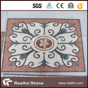 Mixed Color Marble Medallion Mosaic for Wall and Flooring Decoration pictures & photos