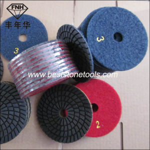 Wd-10 Helded Polisher Wet 3 Step Polishing Pad pictures & photos