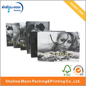 Customized Luxury Paper Shopping Bag with Mat Lamination (QYCI15394) pictures & photos