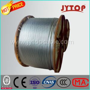 Overhead Transmission, ACSR Aluminum Conductor Steel Reinfored Cable, 45/7 Aluminum Wire, ASTM Standard pictures & photos