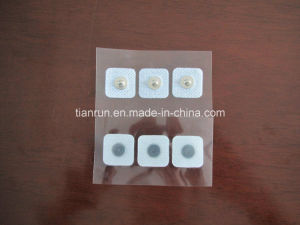 Neonatal Electrode with Button, 22*22mm, Square Shape pictures & photos