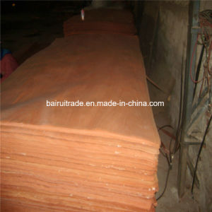 0.3mm Rotary Cut Red Wood Veneer for Plywood pictures & photos