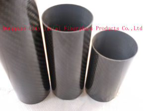 Factory Direct Sale Carbon Fiber Pipe by Roll Wrapped pictures & photos